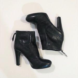 Franco Sarto : Black Ankle Boots